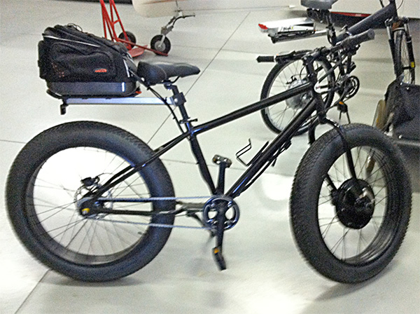 Electrified Fat Tire Bike - Kane Klassics Edition