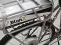 Bionx battery mount close up