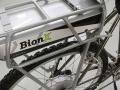 Bionx battery mount close up