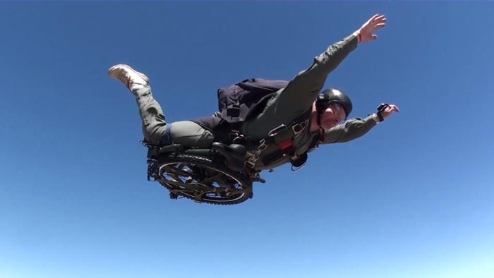 Paratrooper Folding Bike