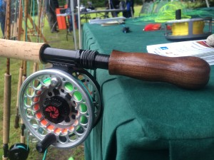 bamboo spey rod uplockiing option on the reel seat