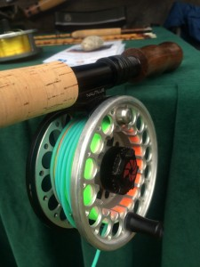 Bamboo Spey Rod up or down locking reel seat options at no cost